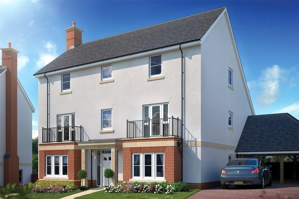 5 Bedrooms Detached House for sale in Plot 44 - The Van Osdel, 1811, Powder Mill Lane, Leigh, TN11