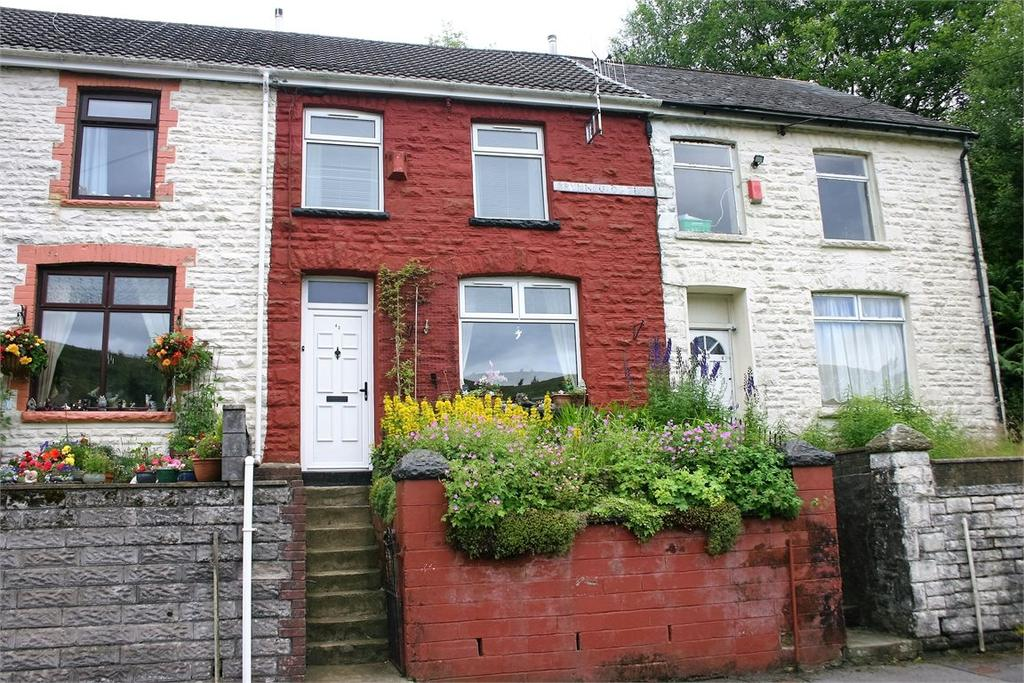 2 Bedrooms Terraced House for sale in 42 Brynheulog Terrace, Tylorstown