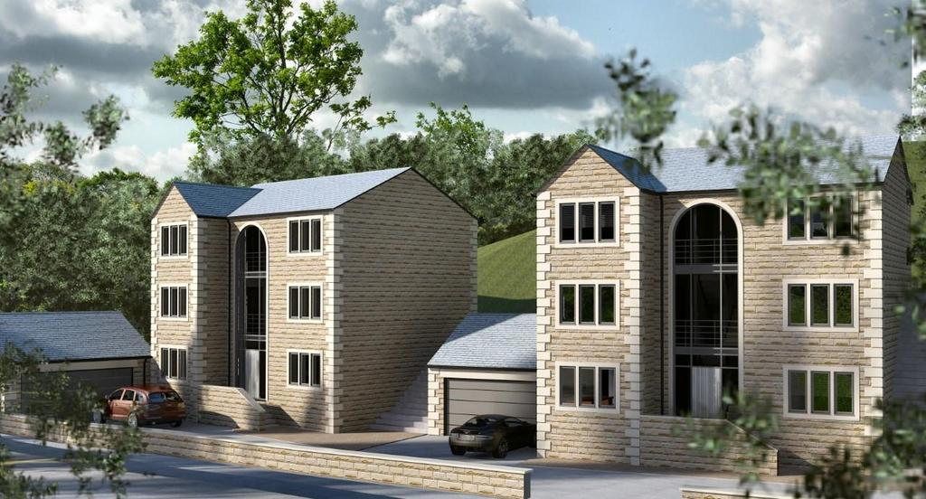 4 Bedrooms Detached House for sale in New Mill Road, Wooldale, HD9 7LT