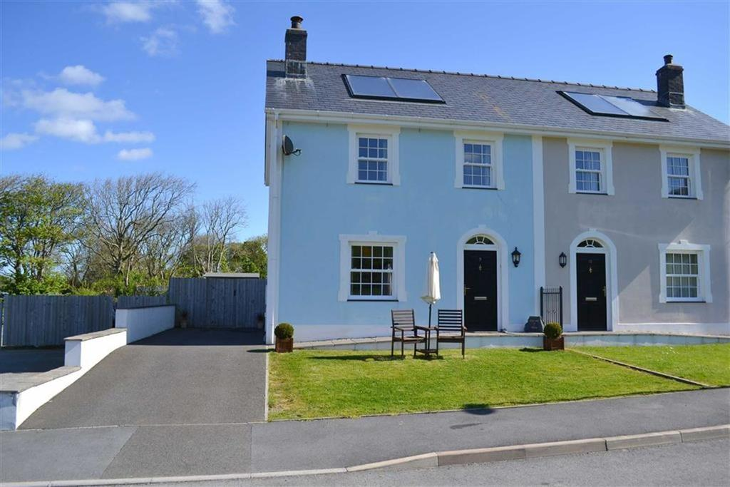 3 Bedrooms Semi Detached House for sale in Stad Craig Ddu, Llanon, Ceredigion