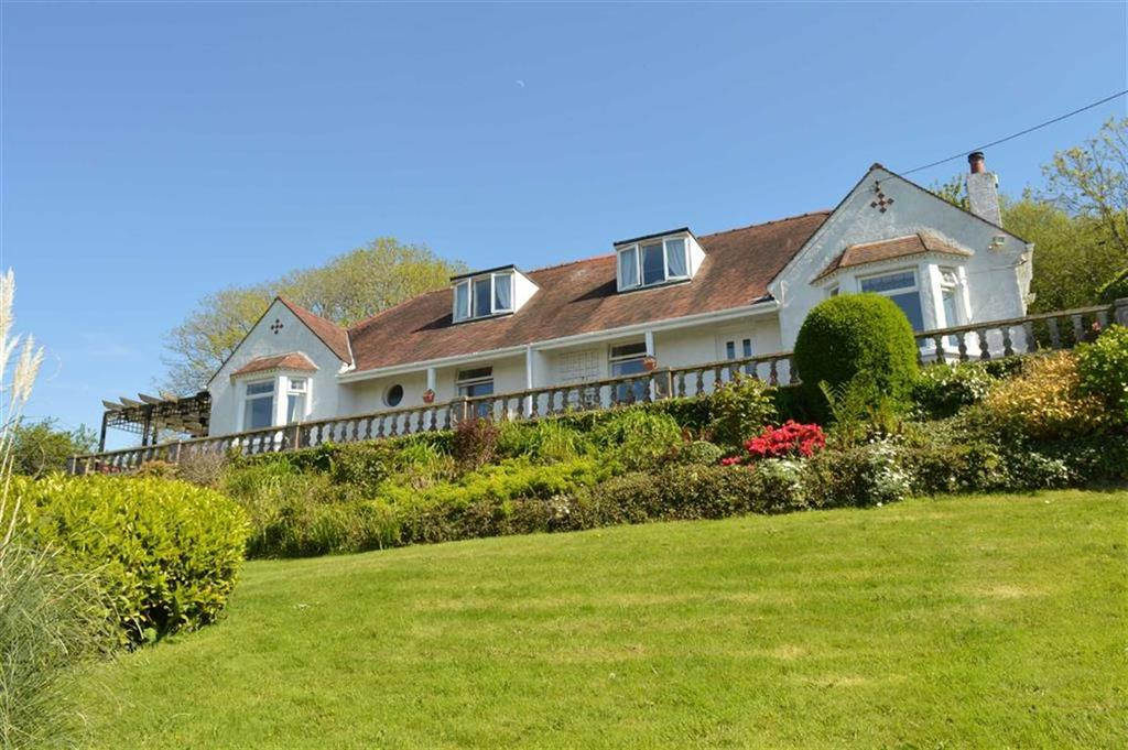 4 Bedrooms Detached House for sale in Hillcrest, The Common, Swansea