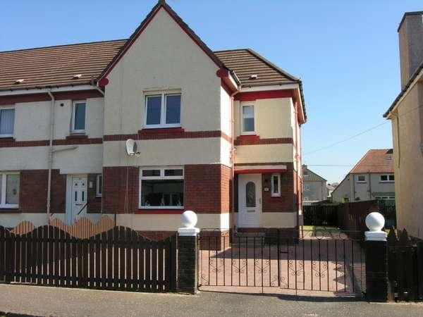 3 Bedrooms End Of Terrace House for sale in 99 Shand Street, Wishaw, ML2 8DA