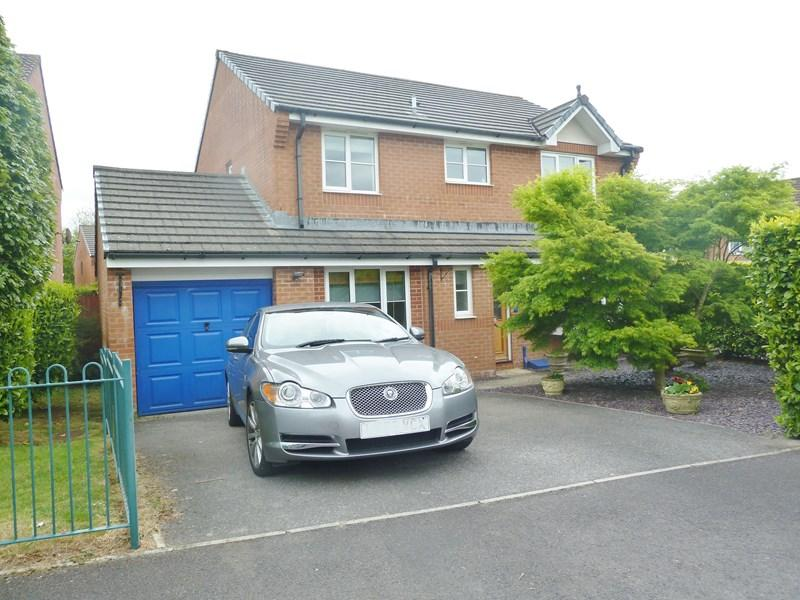 4 Bedrooms Detached House for sale in Morgan Way, Peasedown St. John, Bath