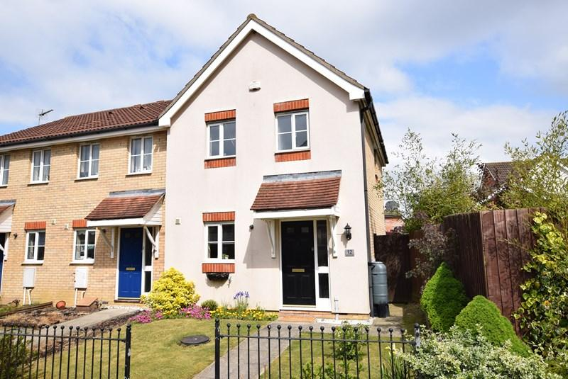 3 Bedrooms End Of Terrace House for sale in Pearmain Walk, Haverhill