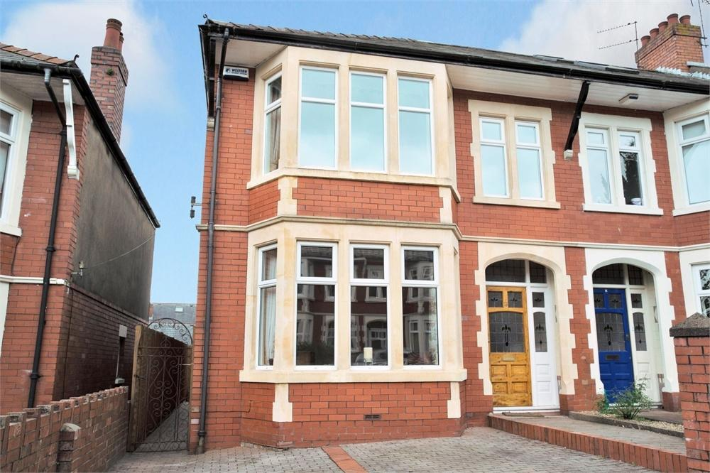 3 Bedrooms End Of Terrace House for sale in Ullswater Avenue, Roath Park, Cardiff