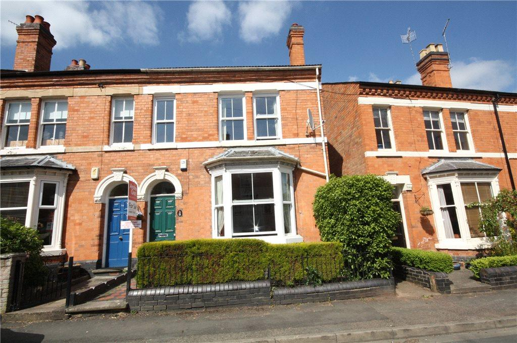 4 Bedrooms End Of Terrace House for sale in St. Dunstans Crescent, Worcester, Worcestershire, WR5