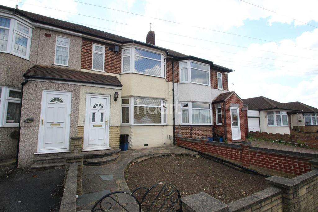 3 Bedrooms Terraced House for sale in Cheriton Avenue, Clayhall