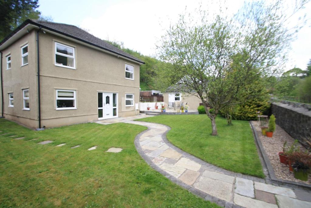 4 Bedrooms Semi Detached House for sale in Reservoir Road, Rassau, Ebbw Vale, Gwent