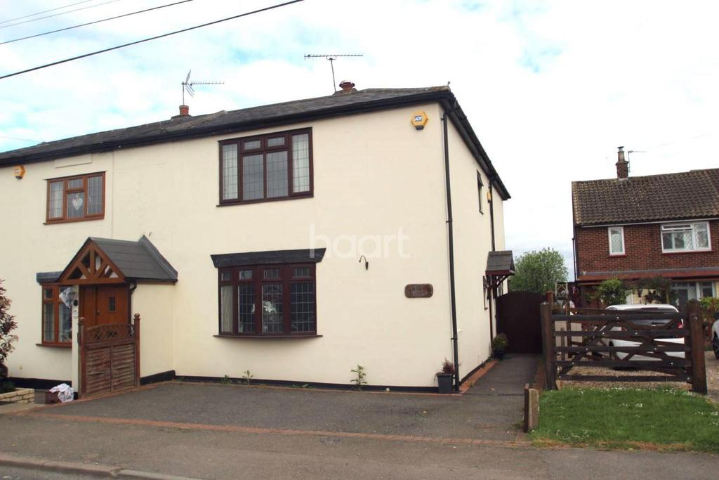 3 Bedrooms Semi Detached House for sale in Hastingwood Road, Hastingwood