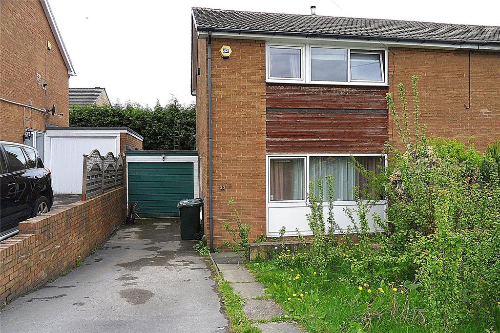 3 Bedrooms Semi Detached House for sale in Holmdene Drive, Mirfield, West Yorkshire, WF14