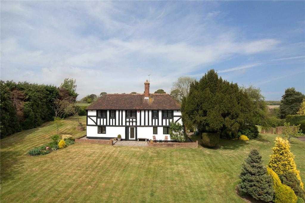 4 Bedrooms Detached House for sale in Lower Lees Road, Old Wives Lees, Canterbury, Kent