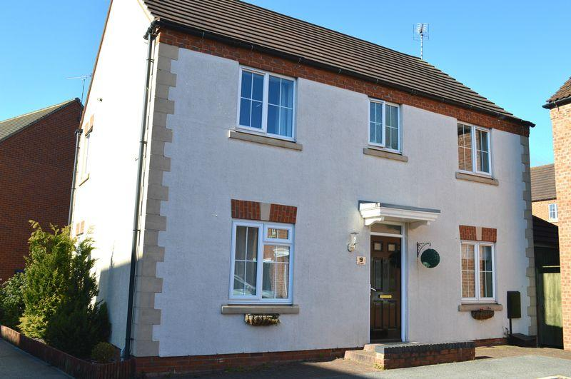 4 Bedrooms Detached House for sale in Dorrigan Close, Lincoln