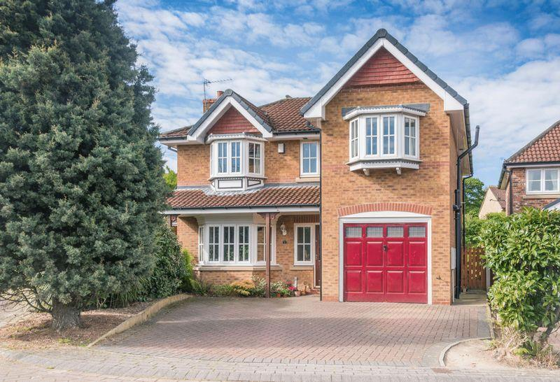4 Bedrooms Detached House for sale in Long Spring Grove, Tankersley S75 3DW - Cul-De-Sac Location