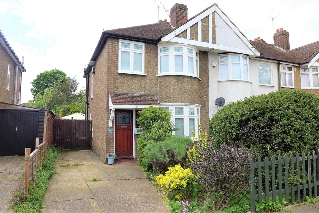 3 Bedrooms End Of Terrace House for sale in Rochester Avenue, Feltham