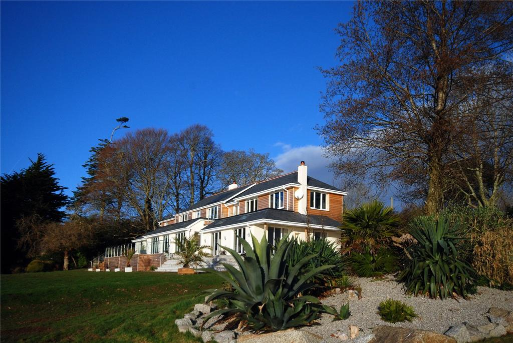 Bedroom detached house for sale in flushing falmouth cornwall - Trevissome Flushing Falmouth Cornwall Tr11 5 Bed