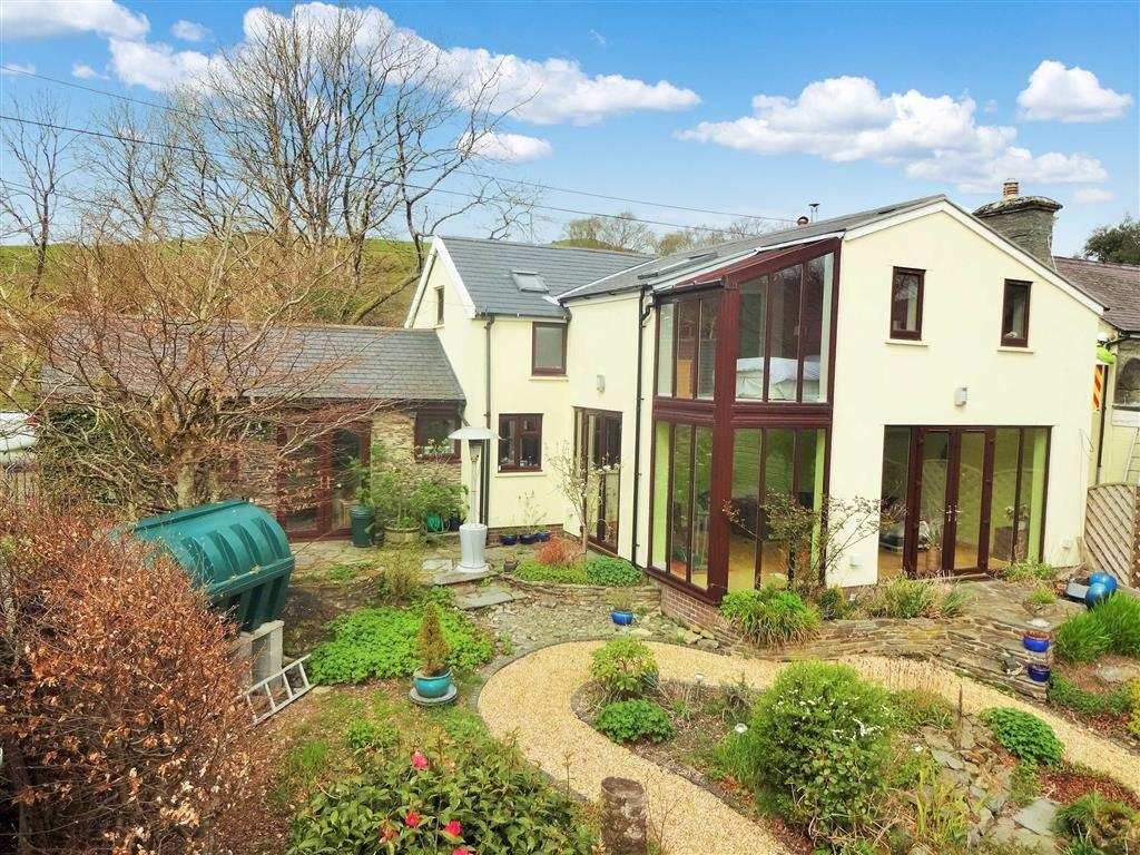 3 Bedrooms Detached House for sale in Rhos Boda, Ystumtuen, Aberystwyth, SY23