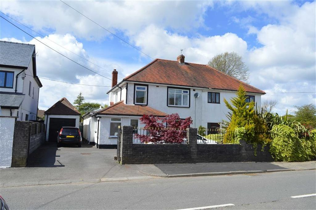 3 Bedrooms Semi Detached House for sale in Bishopston Road, Bishopston, Swansea