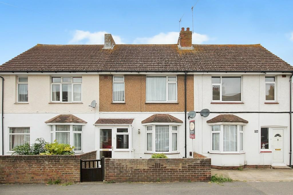 3 Bedrooms Terraced House for sale in Myrtle Road, Lancing, BN15
