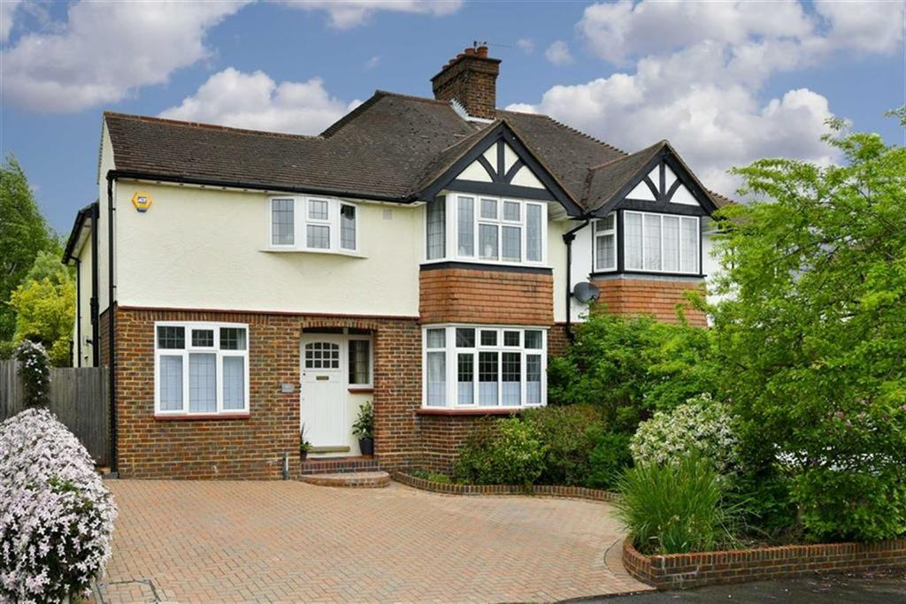 4 Bedrooms Semi Detached House for sale in Hookfield, Epsom, Surrey