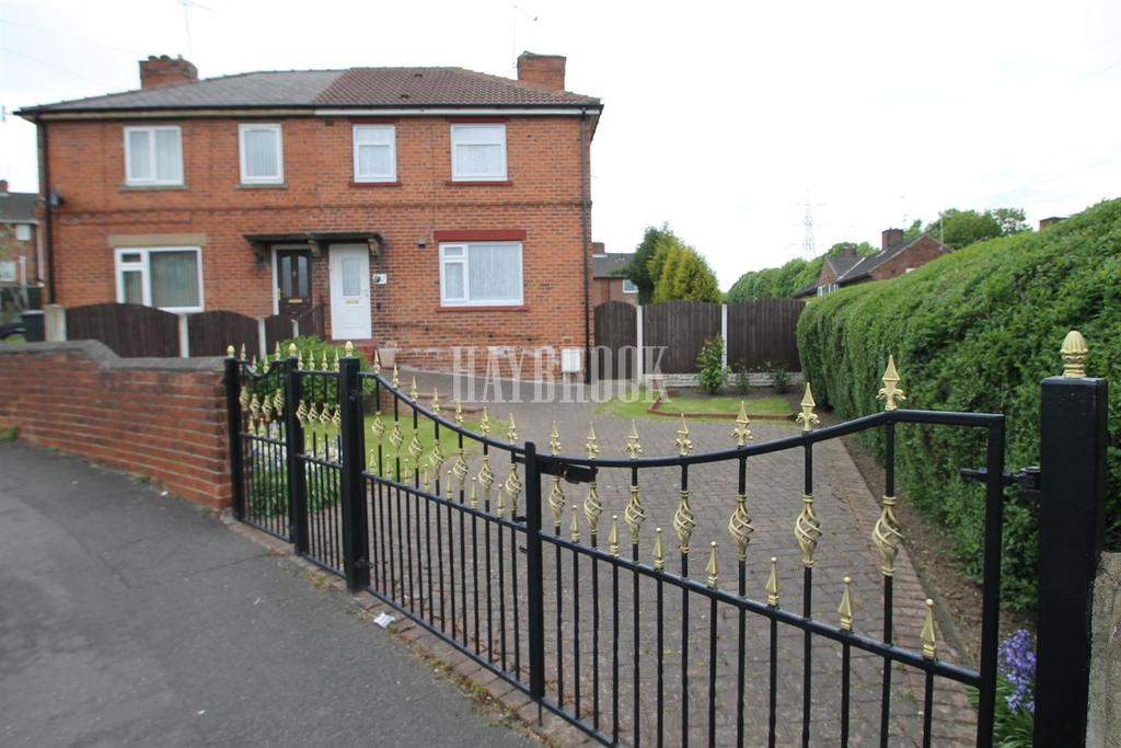 3 Bedrooms Semi Detached House for sale in Nursery Drive, Catcliffe