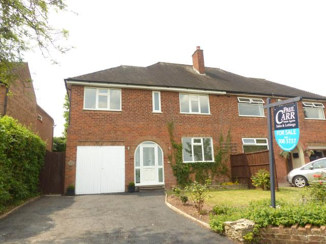 4 Bedrooms Semi Detached House for sale in Birmingham Road,Shenstone,Lichfield