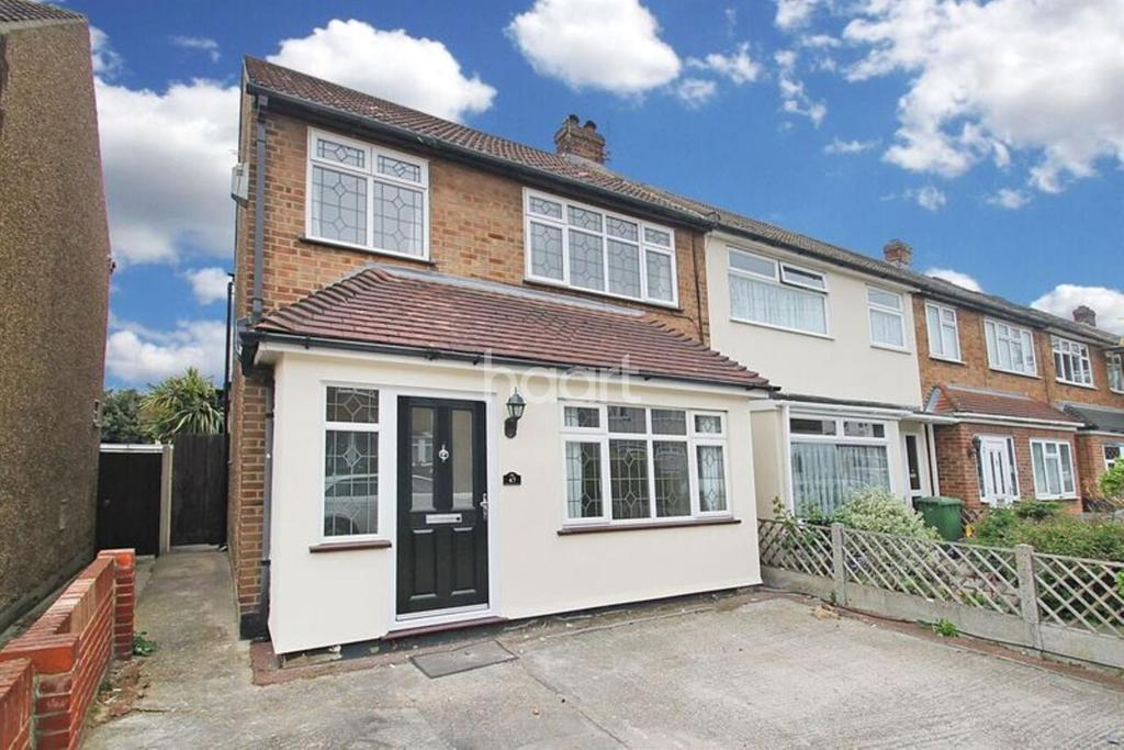 3 Bedrooms End Of Terrace House for sale in Newtons Close, South Hornchurch