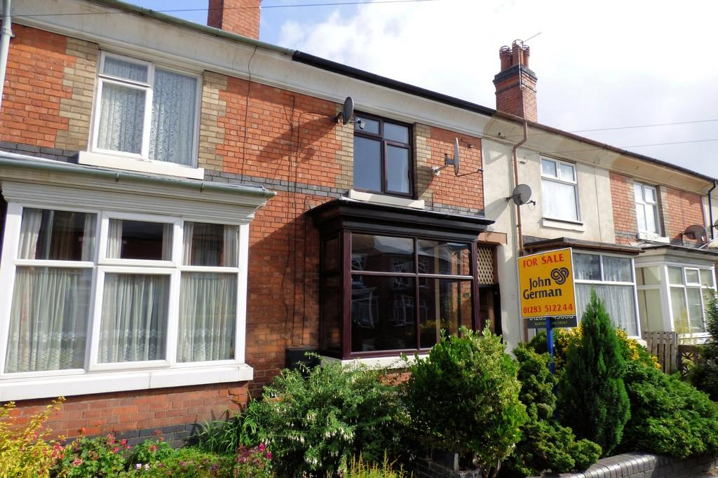 3 Bedrooms Terraced House for sale in Belvedere Road, Burton-on-Trent