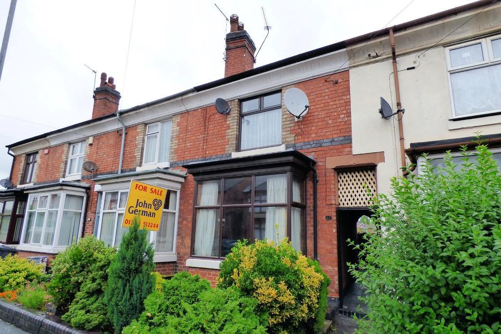 3 Bedrooms Terraced House for sale in Belvedere Road, Burton-on-Trent