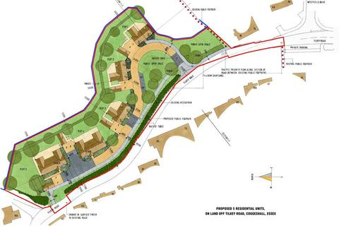 Residential development for sale - Tilkey Road, Coggeshall, Colchester