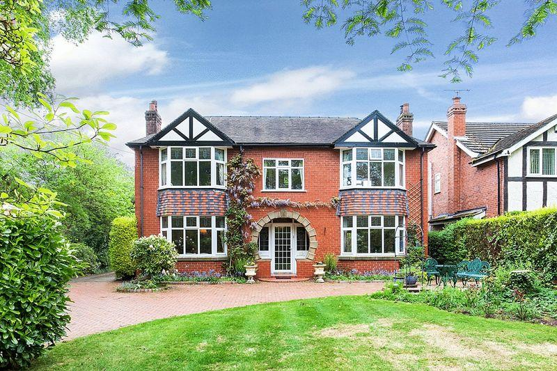 4 Bedrooms Detached House for sale in Black Firs Lane, Somerford, Congleton