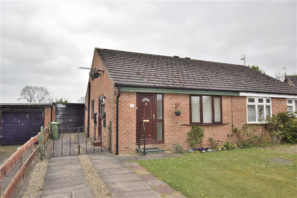2 Bedrooms Semi Detached Bungalow for sale in Honeypot Road, Brompton On Swale, North Yorkshire