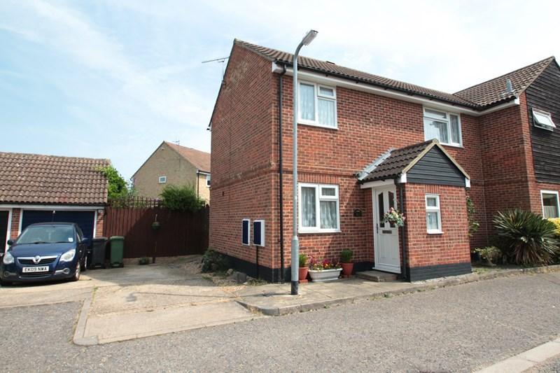 3 Bedrooms Semi Detached House for sale in Hunt Road, Earls Colne, Colchester