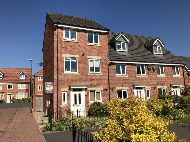 3 Bedrooms Terraced House for sale in HARVEY AVENUE, FRAMWELLGATE MOOR, DURHAM CITY
