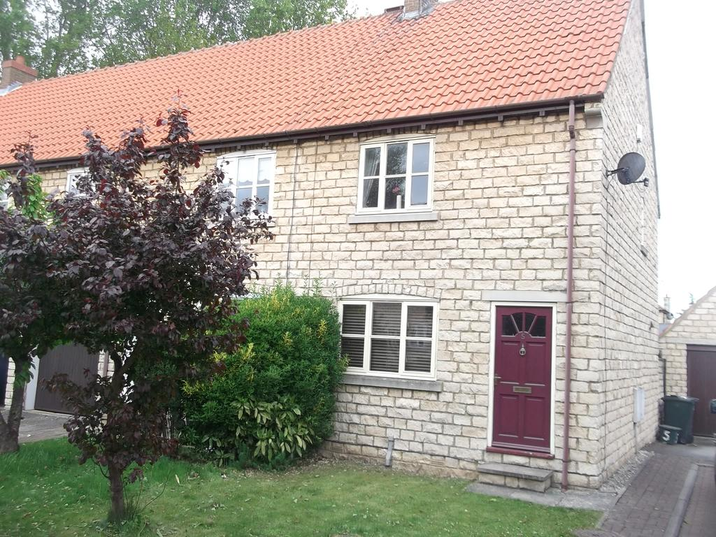 2 Bedrooms End Of Terrace House for sale in St John's Croft, Wadworth, Doncaster DN11