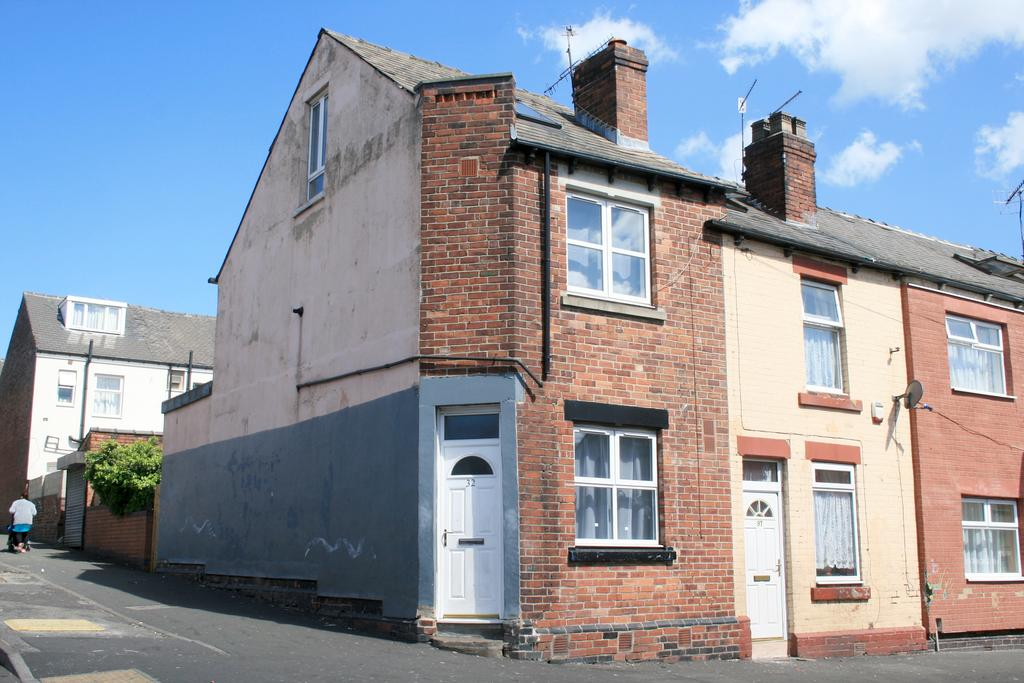 3 Bedrooms End Of Terrace House for sale in Hinde Street, Sheffield S4