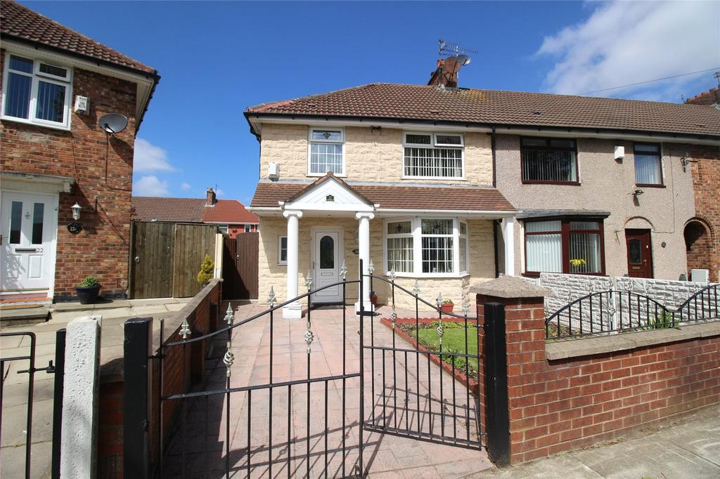 3 Bedrooms Semi Detached House for sale in Circular Road West, Liverpool, Merseyside, L11