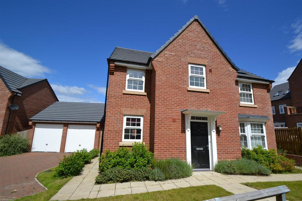 4 Bedrooms Detached House for sale in Ormesby Way, Spennymoor
