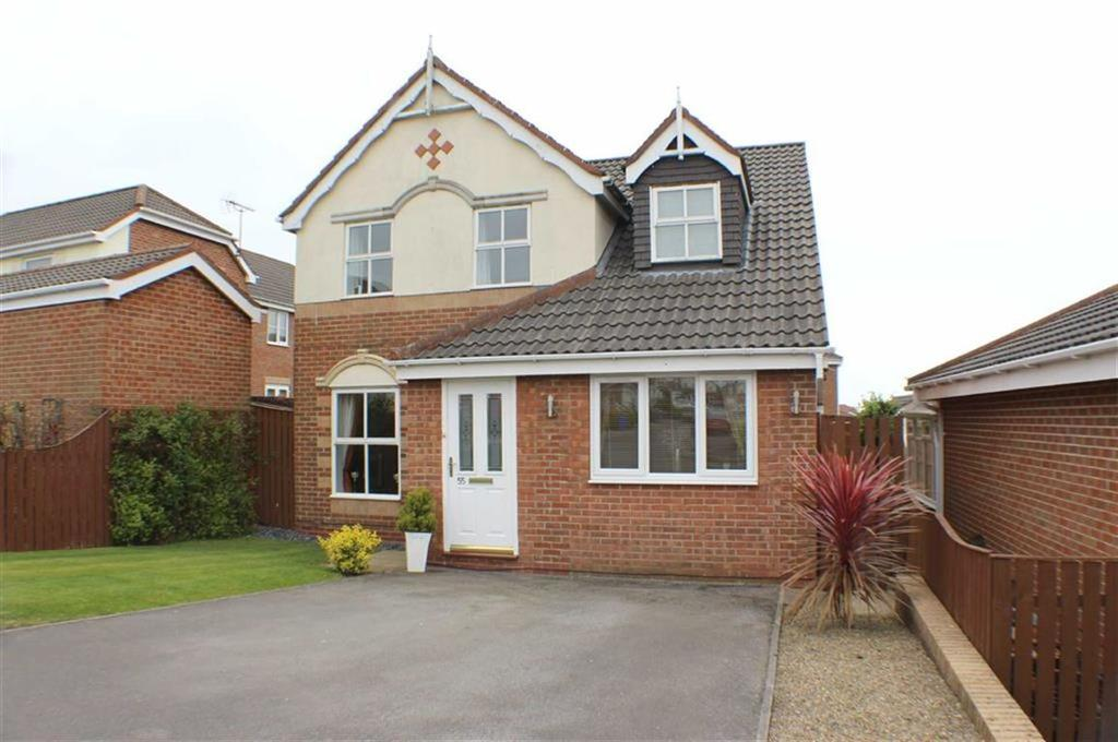 3 Bedrooms Detached House for sale in Aysgarth Rise, Bridlington, East Yorkshire