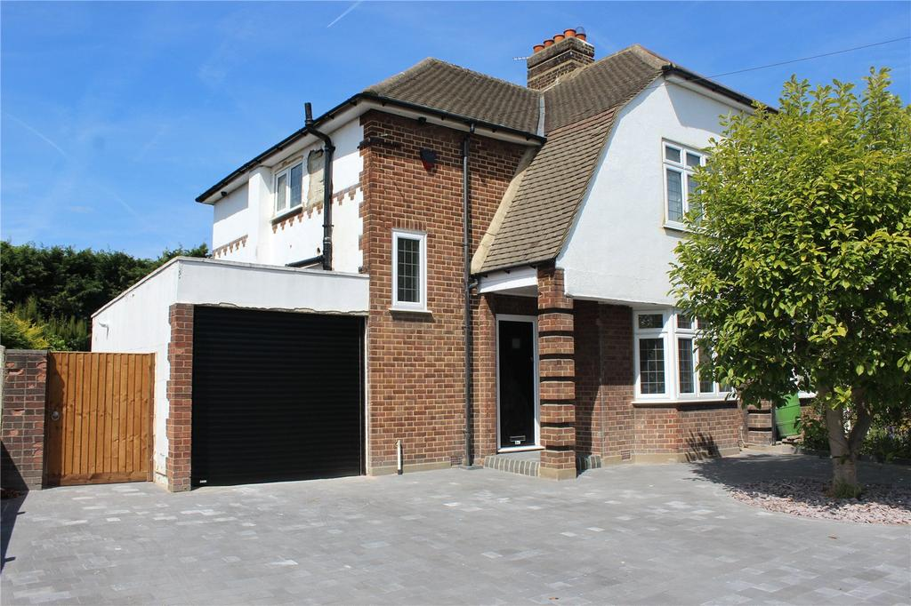 3 Bedrooms Semi Detached House for sale in Elmhurst Drive, Hornchurch, RM11