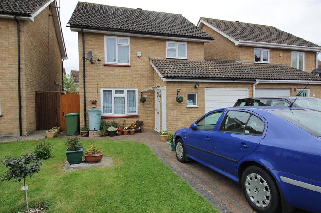 3 Bedrooms Link Detached House for sale in Roosevelt Road, Laindon West, Essex, SS15