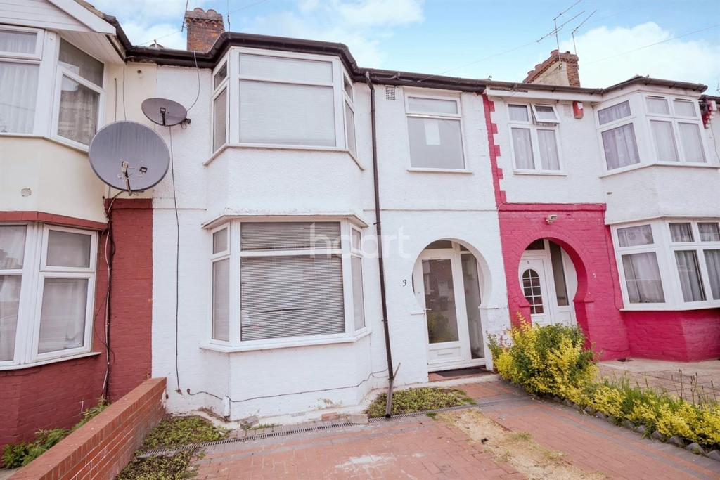 4 Bedrooms Terraced House for sale in Leybourne Road, NW9