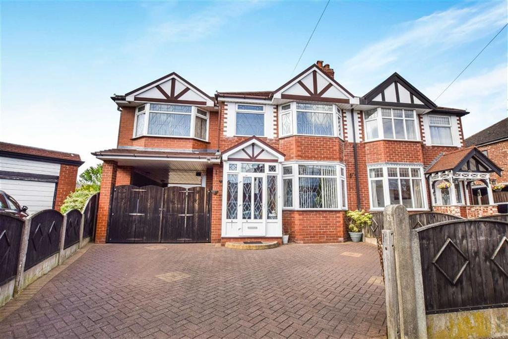 4 Bedrooms Semi Detached House for sale in Royal Avenue, Urmston, Manchester