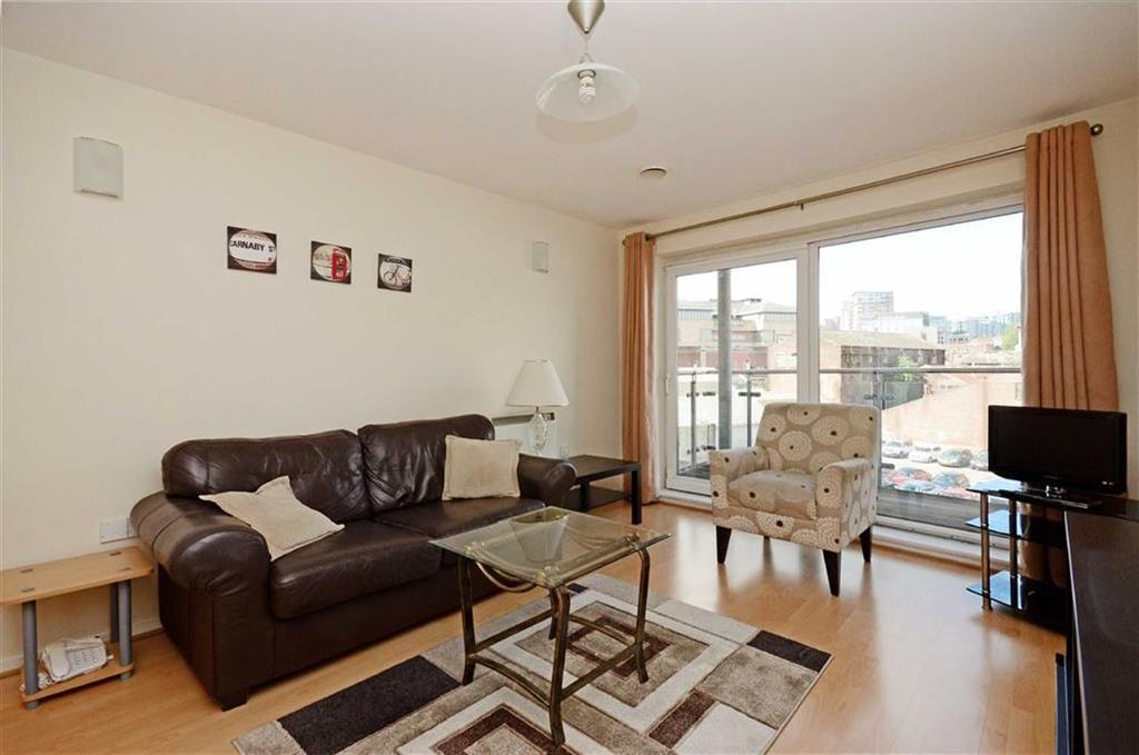 1 Bedroom Flat for sale in 12 Coode House, Millsands, Sheffield, S3