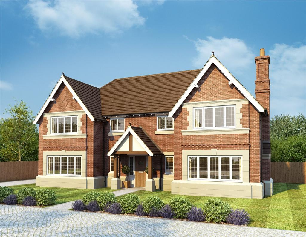 5 Bedrooms Detached House for sale in Oak View, Burcote Road, Towcester, Northamptonshire, NN12