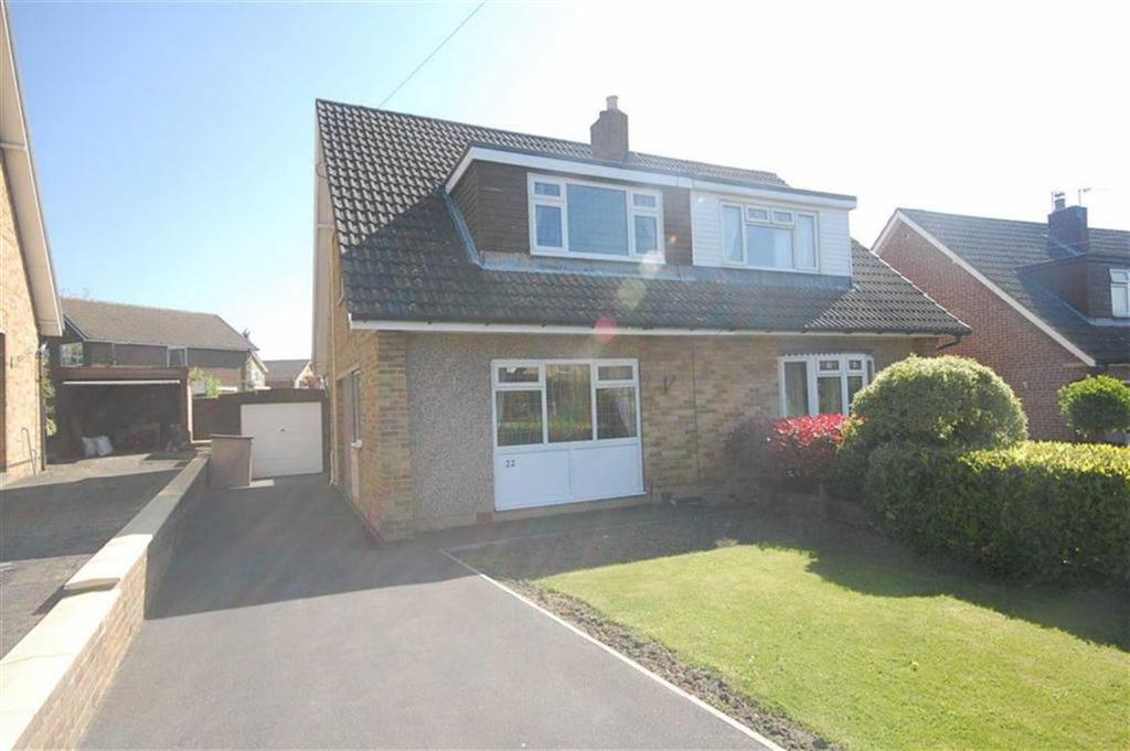 3 Bedrooms Semi Detached House for sale in Overhall Road, Mirfield, WF14