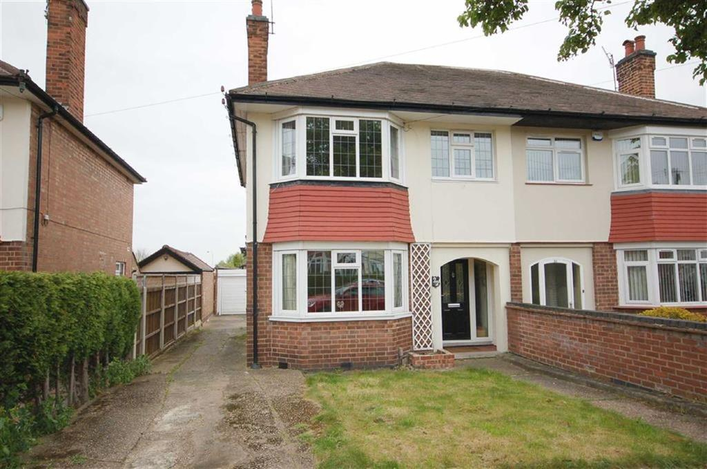 3 Bedrooms Semi Detached House for sale in Burnside Road, West Bridgford