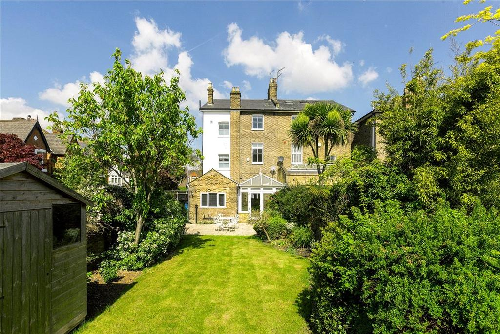 5 Bedrooms Semi Detached House for sale in Beverley Road, London, SW13