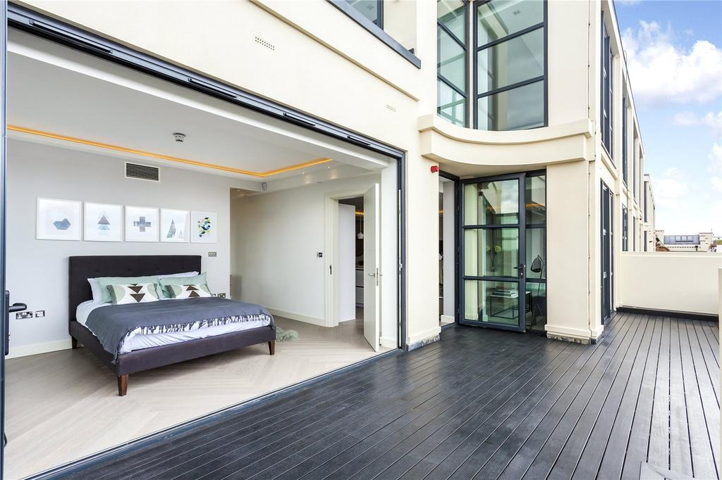 2 Bedrooms Penthouse Flat for sale in Long Island House, Warple Way, London, W3
