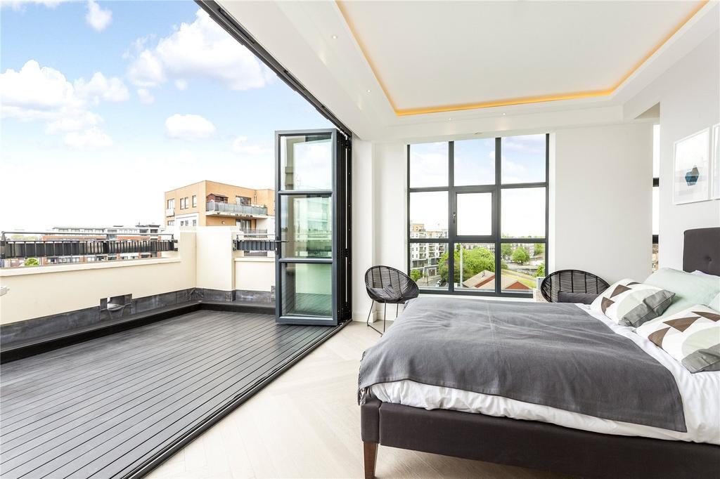 2 Bedrooms Penthouse Flat for sale in Long Island House, Warple Way, London, W3