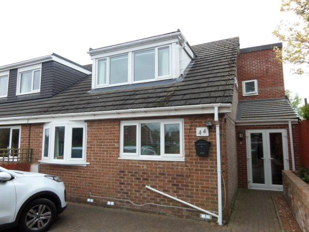 4 Bedrooms Semi Detached Bungalow for sale in THE LANE, SEDGEFIELD, SEDGEFIELD DISTRICT